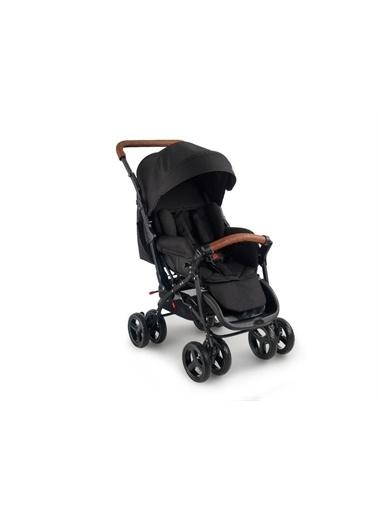 Baby2go Baby2Go 2024 Safe Çift Yönlü Bebek Arabasi - Kahve Gri